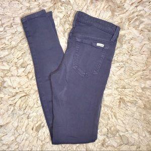Joes Jeans mid rise leggings blue skinny Sz 26